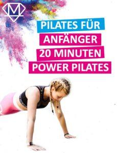 Power Pilates für Zuhause
