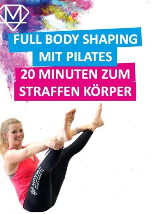 Ganzkörpertraining mit Pilates