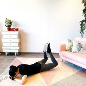 Home Workout für einen knackigen Hintern