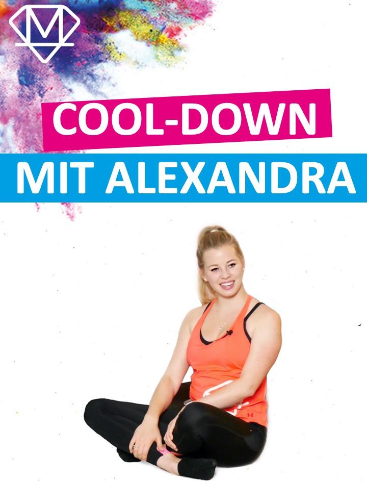 Cool-down mit Alexandra
