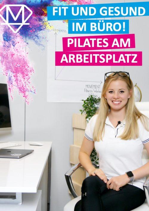 Pilates welches auf der Arbeit durchgeführt werden kann