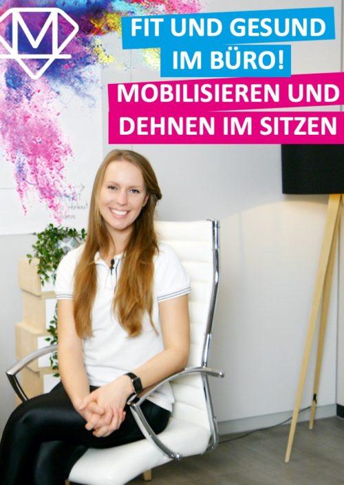 Mobilisieren im Sitzen auf der Arbeit