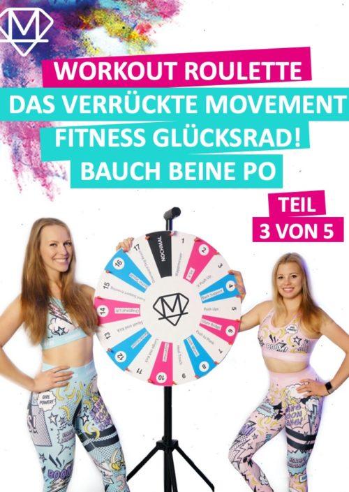 Frauen die Bauch, Beine und Po trainieren