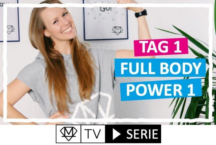 Silke´s perfekte Wochenroutine! - Tag 1: Full body Power 1