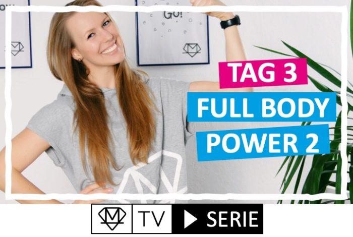 Silke´s perfekte Wochenroutine! - Tag 3: Full body Power 2