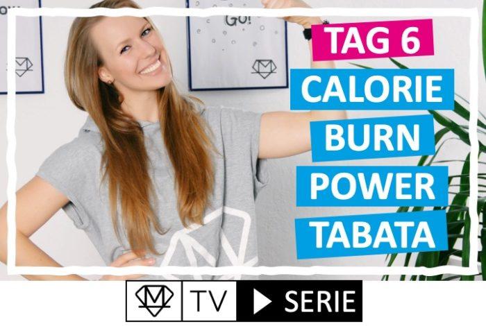Silke´s perfekte Wochenroutine! - Tag 6: Calorie Burn Power Tabata