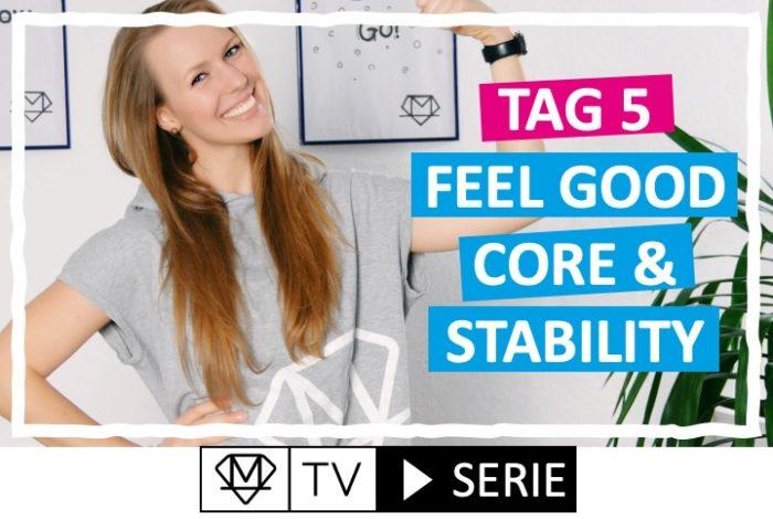 Silke´s perfekte Wochenroutine! - Tag 5: Core & Stability