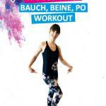 Bauch Beine und Po Training für Zuhause