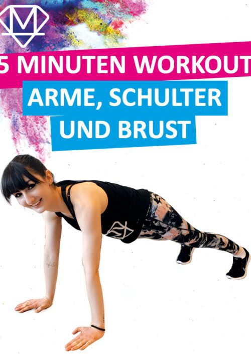 Arme Schulter Brust - Das perfekte Workout in 5 Minuten