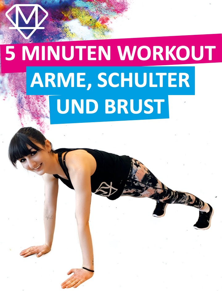 5 Minuten Workout – Arme, Schulter & Brust