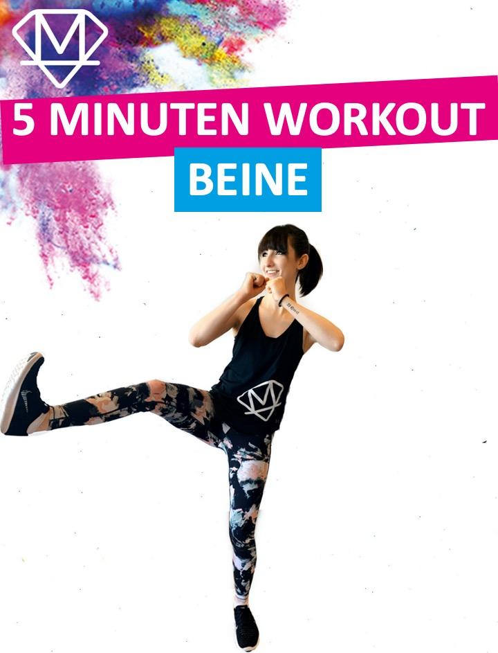 5 Minuten – Beine