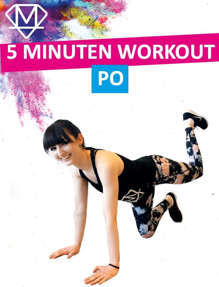 5 Minuten Workout – Po