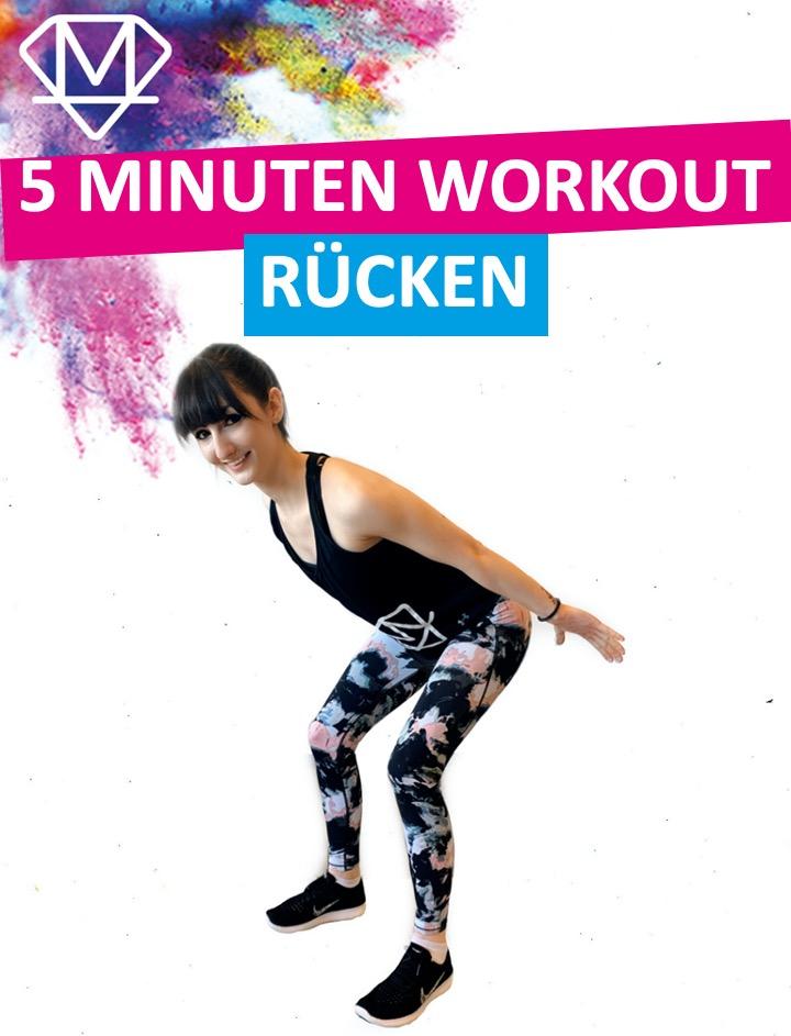 5 Minuten Workout – Rücken