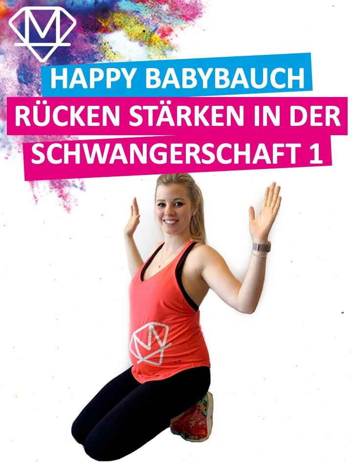 Happy Babybauch – Rücken I