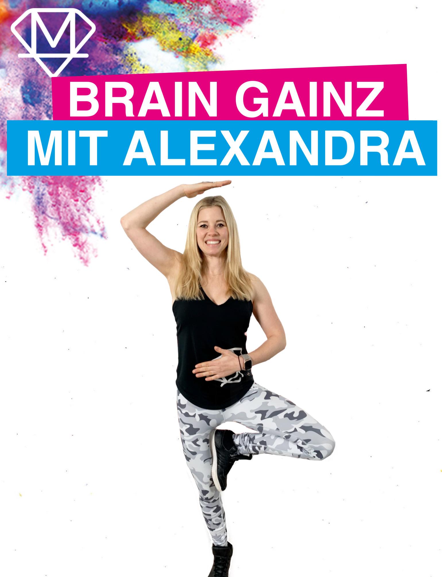 Brain Gainz mit Alexandra