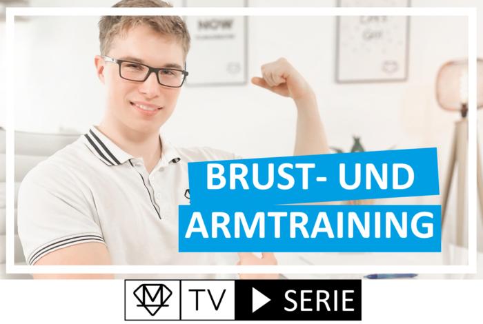 Brust- und Armtraining