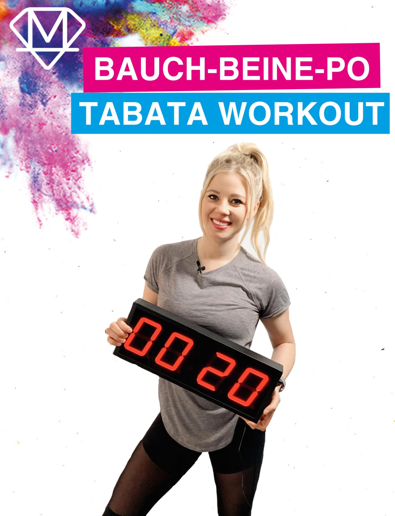 Bauch-Beine-Po Tabata